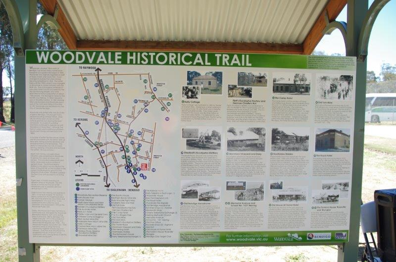 Woodvale Historial Trail Sign & Community Notice Board